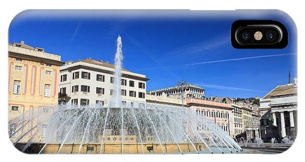 De Ferrari Square - Genova IPhone Case