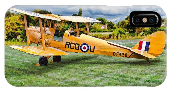 De Havilland Dh82 Tiger Moth IPhone Case
