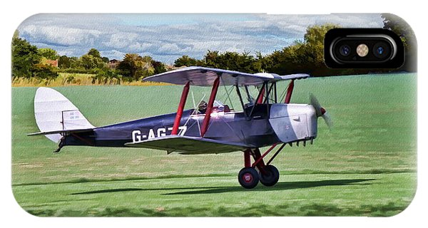De Havilland Tiger Moth 2 IPhone Case