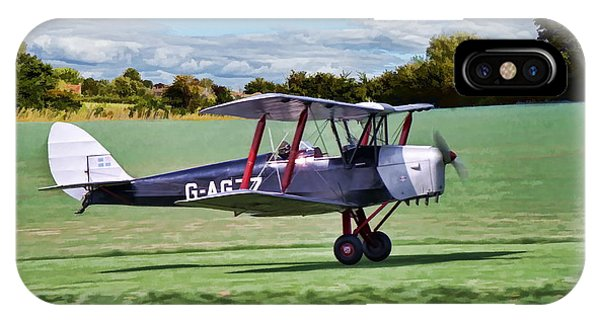 De Havilland Tiger Moth IPhone Case