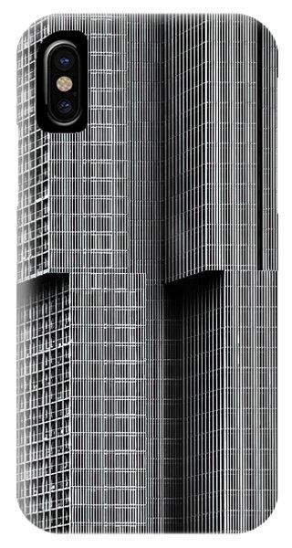 Facade iPhone Case - De Rotterdam by Theo Huybrechts