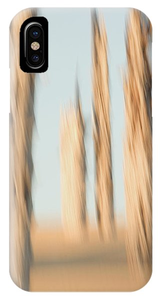 Oregon Sand Dunes iPhone Case - Dead Conifer Trees In Sand Dunes by Phil Schermeister