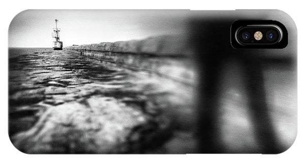 Pier iPhone Case - Dead End by Gustav Davidsson