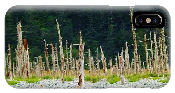 Dead Forest Alaska IPhone Case