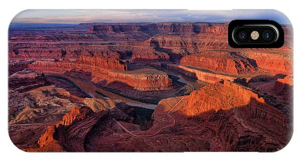 Dead Horse Point Sunrise IPhone Case