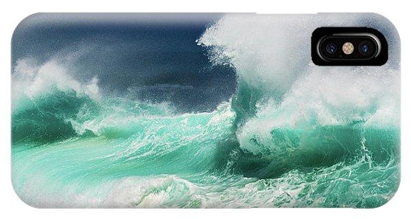 Explosion iPhone X Case - Dead Man's Beach by Ralf Prien