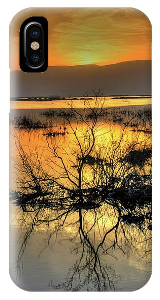 Psi iPhone Case - Dead Sea At Sunrise by Photostock-israel