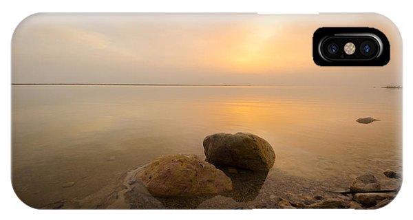 Dead Sea Sunrise IPhone Case