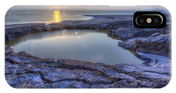 Dead Sea Sunrise IPhone Case