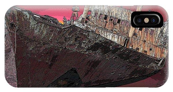 Dead Ship 3 Phone Case by Gustavo Mazzoni