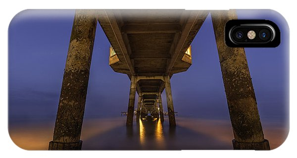 Deal Pier At Night IPhone Case