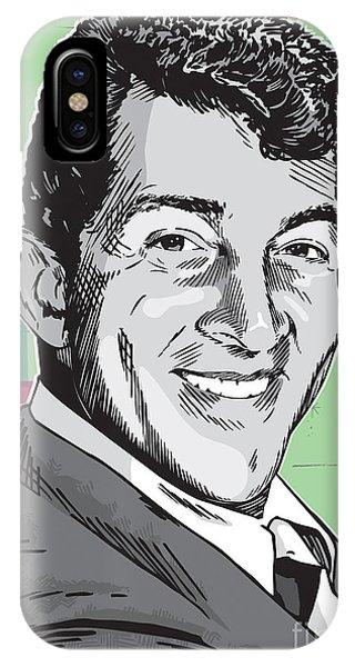 Dean Martin Pop Art IPhone Case