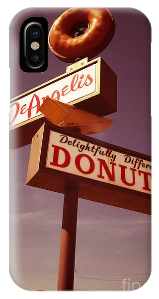 Attraction iPhone Case - Deangelis Donuts by Jim Zahniser