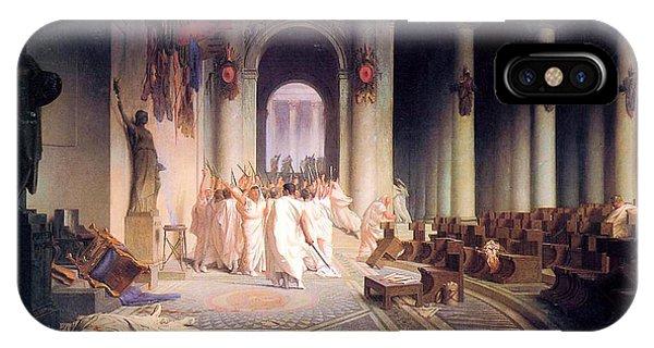 Death Of Caesar IPhone Case