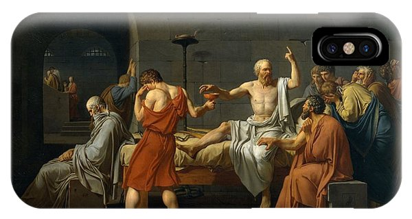 Death Of Socrates IPhone Case