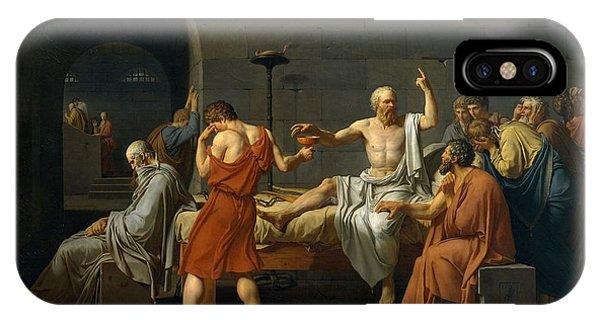 Death Of Socrates IPhone Case
