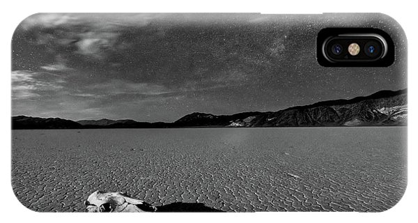 Death Valley iPhone Case - Death Valley By Moonlight by Hua Zhu