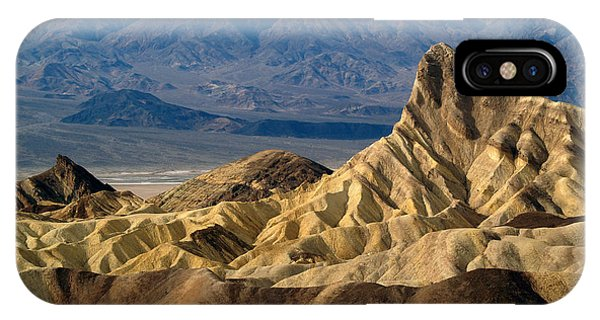 Death Valley Np Zabriskie Point 11 IPhone Case