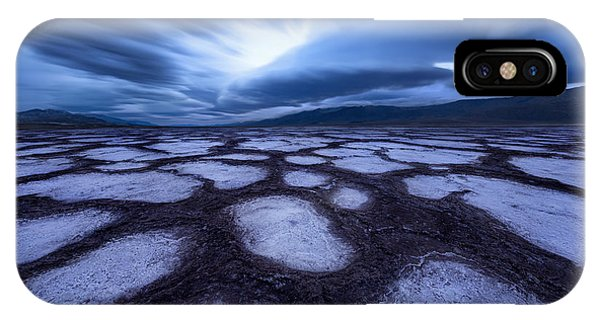 Death Valley iPhone Case - Death Valley by Qiang Huang