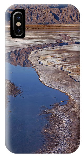Death Valley Salt Stream 1 IPhone Case