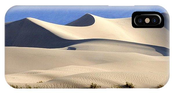 Death Valley Sand Dunes IPhone Case