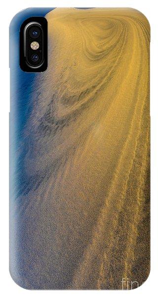 Death Valley Sunset Dune Wind Spiral IPhone Case