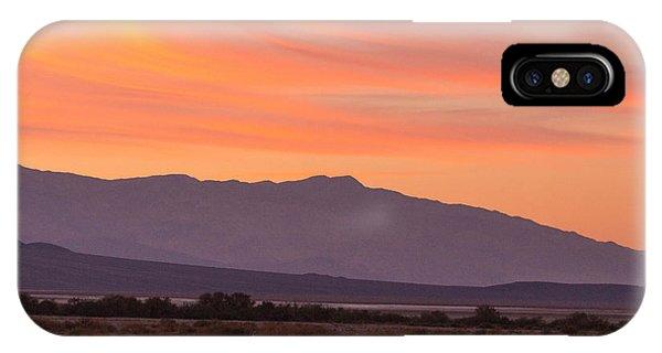 Death Valley Sunset IPhone Case