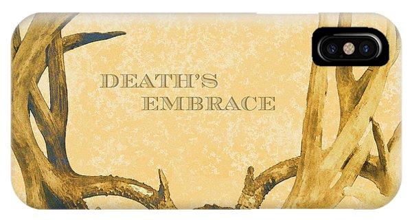 Death's Embrace IPhone Case