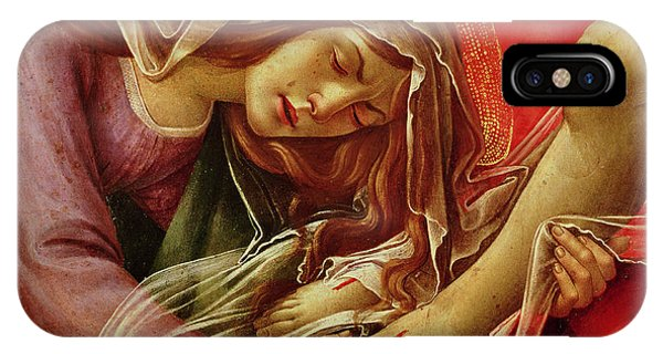 Botticelli iPhone Case - Deatil From The Lamentation Of Christ by Sandro Botticelli