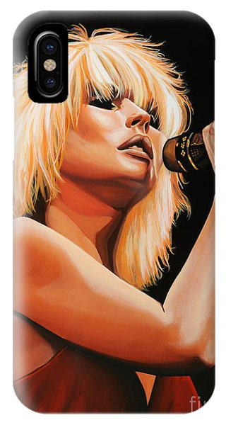 Atomic iPhone Case - Deborah Harry Or Blondie 2 by Paul Meijering
