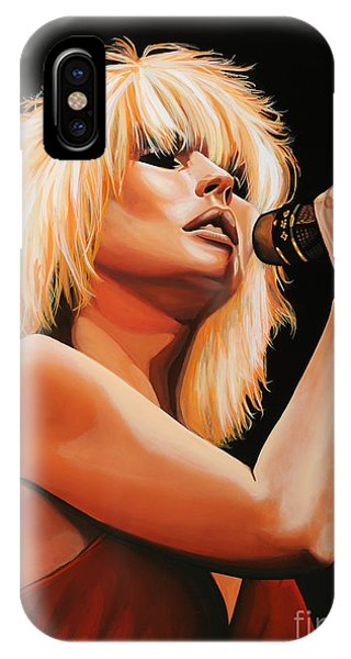 Deborah Harry Or Blondie 2 IPhone Case