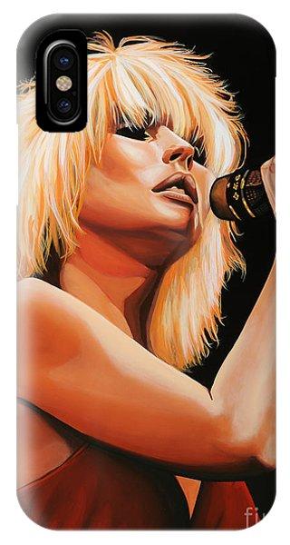 Deborah Harry Or Blondie 2 IPhone Case
