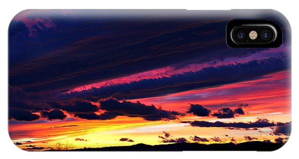 December Sunset IPhone Case