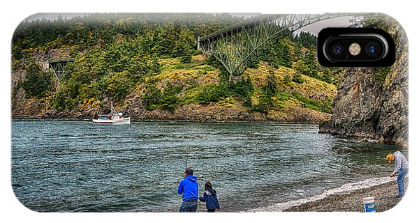 IPhone Case featuring the photograph Deception Pass by Kelly Reber
