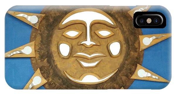 Decorative Sun IPhone Case