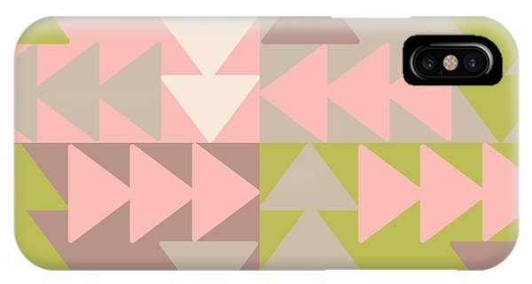 Triangles iPhone Case - Decorative Vector Poster Geometric by Matryoshka123