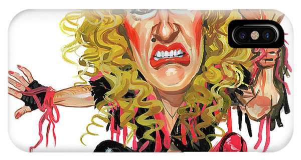 Dee Snider Phone Case by Art