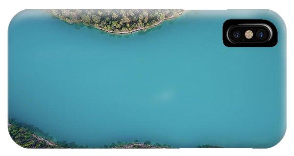 Above iPhone Case - Deep Blue by Antonio Carrillo Lopez