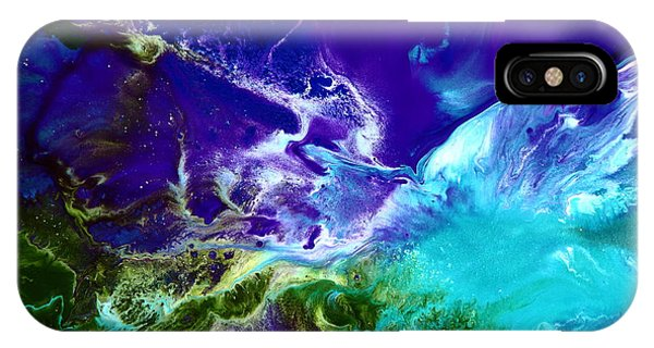 Deep Blue Sea Abstract IPhone Case