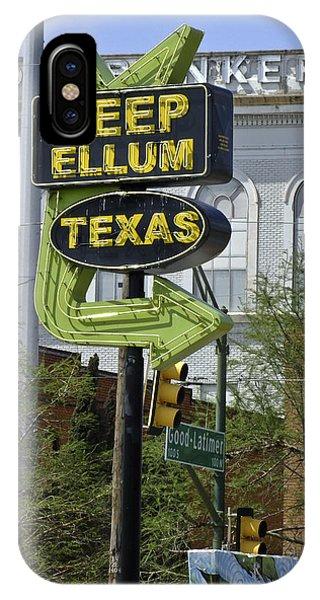 Deep Ellum Texas IPhone Case