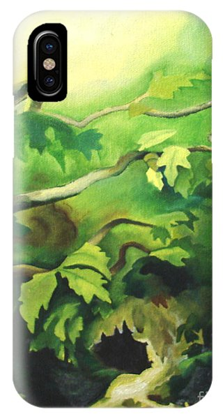 Deep Forest IPhone Case