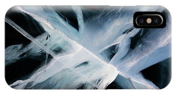 Russia iPhone Case - Deep Ice by Andrey Narchuk