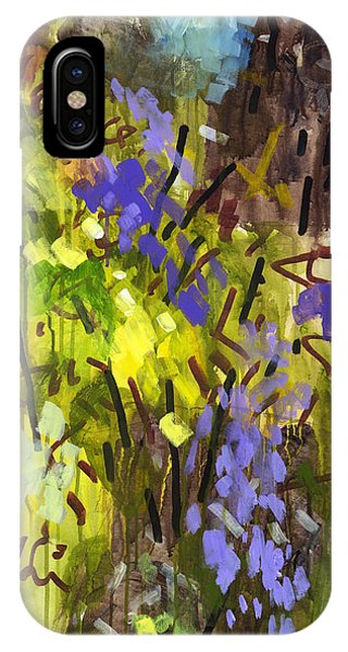 Abstract Expression iPhone Case - Deep In Summer by Douglas Simonson