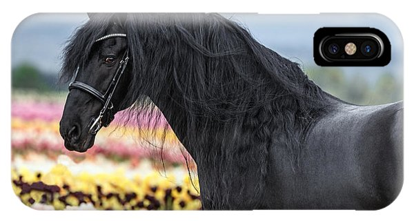 Deep In The Fields IPhone Case