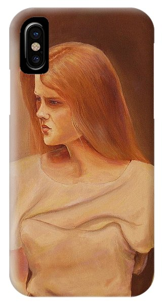 Deep In Thought IPhone Case