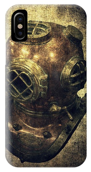 Deep Sea Diving Helmet IPhone Case