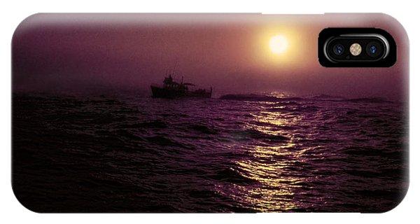 Deep Sea Fishing Off West Port Wa II IPhone Case