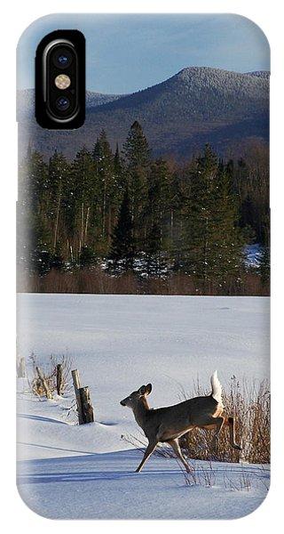 Deer Run IPhone Case