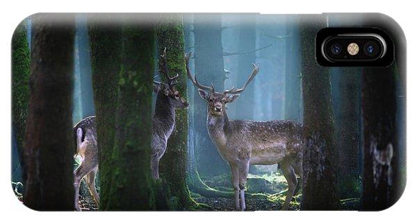 Deers Phone Case by Patrick Aurednik