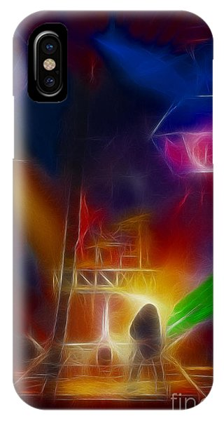 Def Leppard-adrenalize-gf10-fractal IPhone Case